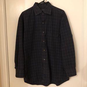 CANALI   Navy Shirt 100% Cotton